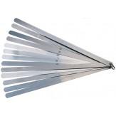Щупы 300 мм скреплены кольцом (наб. из 13 пластин) 0,05 - 1,00 мм