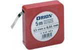 ORION Лента калибровочная 13ммx5м, номинальная толщина 0,15 мм