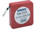 ORION Лента калибровочная 13ммx5м, номинальная толщина 0,10 мм