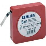 ORION Лента калибровочная 13ммx5м, номинальная толщина 0,01 мм