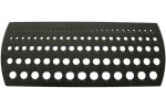 Шаблон с калибровочными отверстиями закаленный 0,1 - 10 мм, деление шкалы 0,1 мм