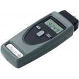 Тахометр ручной электронный в наб. с адаптером, наконечниками, удлиннителем, метками и батареями, в пластм.чемодане