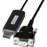 TESA Кабель соединительный RS232 (штекерный разъем Sub-D) со штекером USB