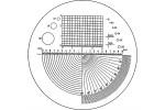 Eschenbach Пластинка штриховая тип 02