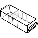 RAACO Ящик выдвижной, прозрачный 41х55х153 мм, без перегородок, тип 150-00