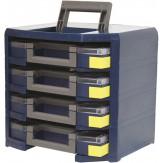 RAACO Ящик мобильный для оснащения 4 кофрами арт. 50002440-445, ДхШхВ = 347x305x324 мм