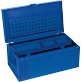 Ящик для инструментов из листовой стали 830х440х340 мм RAL 5002,  синий