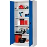Шкаф с распашными цельнометаллическими дверцами, ВxШxГ 1950x1000x400 мм
