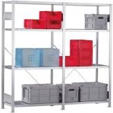 ATORN Стеллаж сборный (основной элемент), 1000x400x2000 мм, несущая способность 115 кг