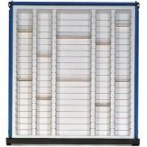 ANKE Вставки для выдвижного ящика с выемками, пластик 500 x 540 х 90 мм, серия S BL H 5 лотков