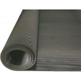 HK Коврик резиновый с тонкими бороздками. Рулон 10 x 1 м, толщина 3 мм, цвет черный