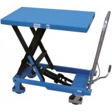 Стол подъемный, грузоподъемность 300 кг, цвет RAL 5012