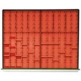 HK Вкладки для выдвижных ящиков к инструментальным шкафам 800 В, емкости от 40 мм