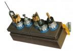 WTS Держатель для инструментов с 2 ячейками для TR48/VDI50