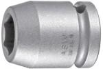 ASW Головка ударная 1/2, с четырехгранным приводом, раствор 22 мм, длина 38 мм
