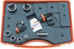 ALFRA Комплект для пробойников Tristar, 11 частей с перфоратором отверстий M 12/16/20/25/32/40 и винты 6x40/9,5x50/19x55