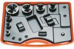 ALFRA Комплект для пробойников Tristar, 7 частей с перфоратором отверстий M 16/20/25/32/40/50/63, в пластиковом чемодане