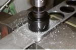 ATORN Сверло корончатое HSS биметаллическое 98 мм без хвостовика