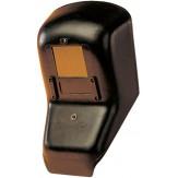 Щиток из стеклопластика для защиты рук для сварщика, переключение в светлое состояние нажатием рукоятки