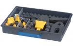 MAXIFLEX Шланг шарнирный 1/2  Базовый набор в пластмассовом кейсе