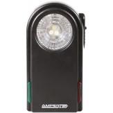 Фонарь светодиодный плоский, 3 белых светодиода, красный/зеленый светофильтр, корпус ABS, без батарей