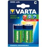 VARTA Аккумуляторы Baby (упак. 2 шт.) 1,2 В, 3000 mAH, никель-кадмиевые