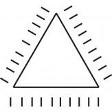 PFERD Напильник алмазный игольчатый трехгранный, зерно D 91