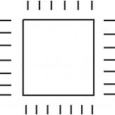 PFERD Напильник алмазный игольчатый четырехгранный, зерно D 91