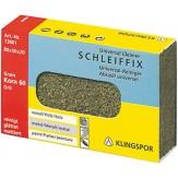 KLINGSPOR Брусок шлифовальный гибкий пробковый Schleiffix 80х50х20 мм, зерно 60