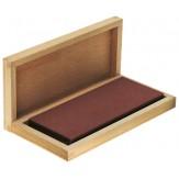 DEGUSSIT Брусок точильный, 120х50х10 мм, мелкое зерно, в деревянном ящике