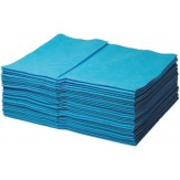 MULTITEX Полотенца 38х34 cм (упак. 40 шт.), синие