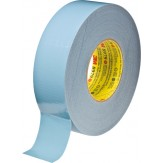3M 8979 Лента клейкая универсальная из ткани, устойчива к УФ, сине-серая, 48 мм х 54,8 м