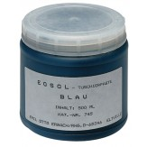HK Краска шабровочная пастообразная цвет синий, 2 баллончика х 0,5 л