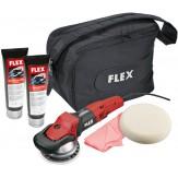 FLEX Машинка шлифовально-полировальная эксцентриковая FLEX XC 3401 наб. из VR