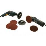 KLINGSPOR Диск опорный самоклеющийся каучуковый для дисков на липучке (для дрелей), d 125 мм, хвостовик 6 мм