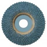 ATORN Круг лепестковый тарельчатый, зерно 36, d 115 мм, форма наклонная, инструментальная бабка из металла