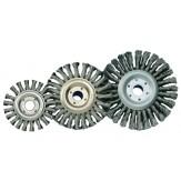 ATORN Щетка чашечная круглая d 115 мм, M14 скрученная стальная проволока 0,5 мм