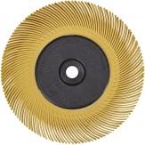3M Диск шлифовальный радиальный Briste BB-ZB, тип С, зерно 80, d 150 мм, желтый