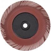 3M Диск шлифовальный радиальный Briste BB-ZB, тип С, зерно 220, d 150 мм, цвет красный