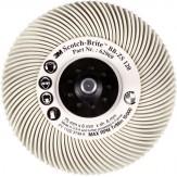 3M Диск шлифовальный радиальный Briste BB-ZB, тип С, зерно120, d 76 мм, белый