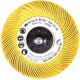 3M Диск шлифовальный радиальный Briste BB-ZB, тип С, зерно220, d 76 мм, цвет красный