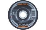 RHODIUS диск обдирочный для обрабтки цветных металлов 115х6х22,2 мм