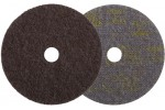 3M SL-DH Диск шлифовальный из нетканого материала Scotch-Brite, d115 мм, с центровкой, точность обработки грубая SD =, зерно 050