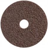 3M SC-DH Диск шлифовальный из нетканого материала Scotch-Brite, d115 мм, с центровкой, точность обработки грубая, зерно 100 braun