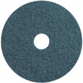 3M SC-DH Диск шлифовальный из нетканого материала Scotch-Brite, d115 мм, с центровкой, точность обработки очень тонкая, зерно 100 синий