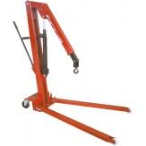 MAZZOLA/LONGUS Кран гидравлический для мастерской, грузоподъемность 500 кг, высота шасси 143 мм