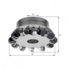 ATORN Головка фрезерная торцовая HPC 45°, d 63,00 мм, Z=7