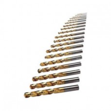 ORION Набор сверл, тип N, HSS-TiN 5xD, Ø 1,0–13,0 мм, шаг 0,5 мм