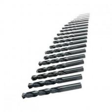 ORION Набор сверл, тип N, HSS, 5xD, Ø 1,0-10,5 мм, шаг 0,5мм + сверла под резьбу