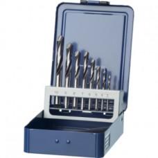 ORION Сверло спиральное, набор, тип N, с тв.сплавной вставкой, 4xD, 3,0–10,0